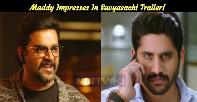 Stylish Villain Maddy Impresses In Savyasachi Trailer!