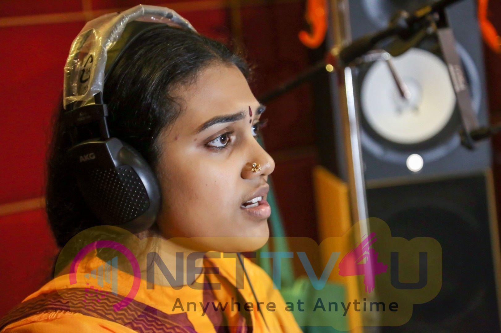 S.Aishwarya Sings For Kural 388 Movie Pics