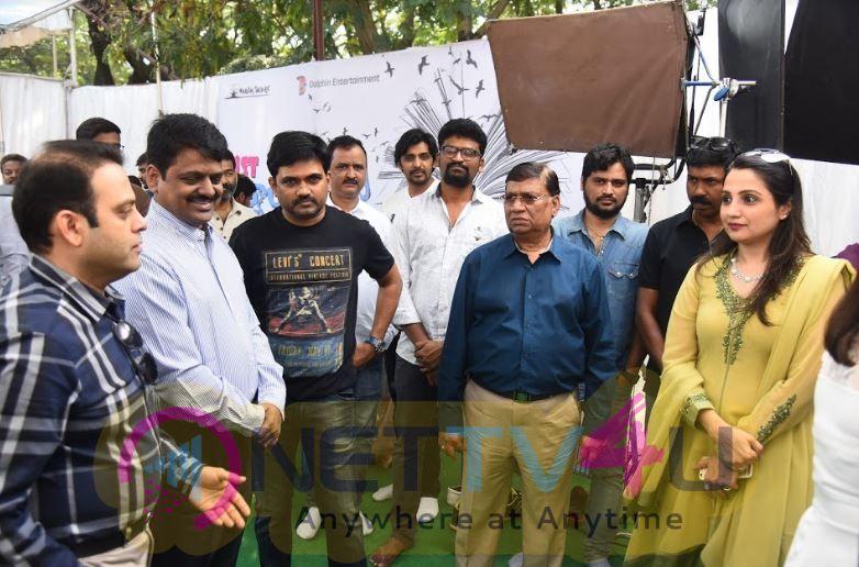 First Rank Raju Movie Launch Photos