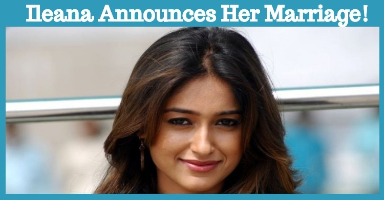 Ileana Announces Her Marriage!