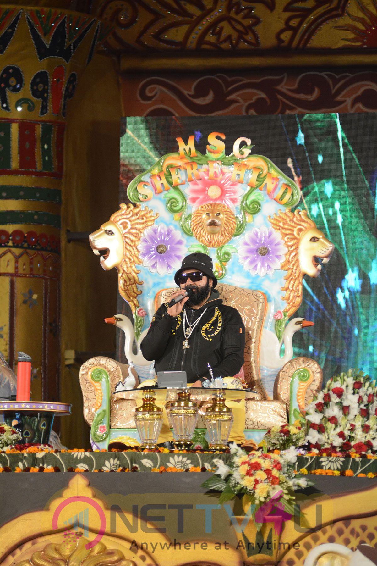 Hind Ka Napak Ko Jawab MSG Lion Heart-2 Trailer Launch Photos