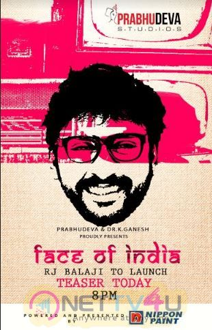 Face Of India Album Produced By Prabhu Deva Studios Images