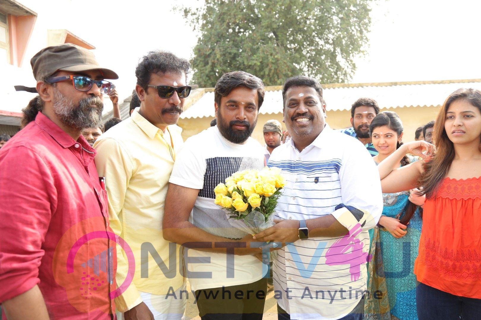 Nadodigal 2 Movie Pooja Photos Tamil Gallery