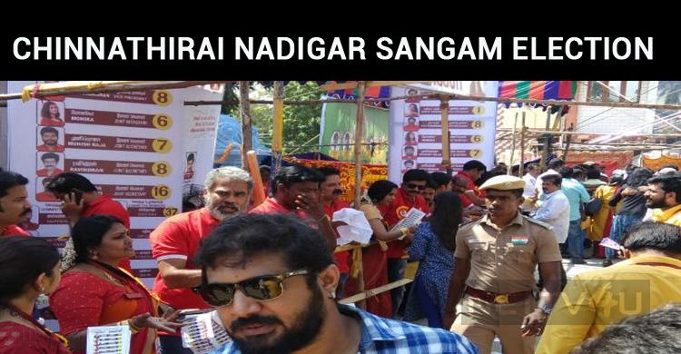 Chinnathirai Nadigar Sangam Election Is Going On!