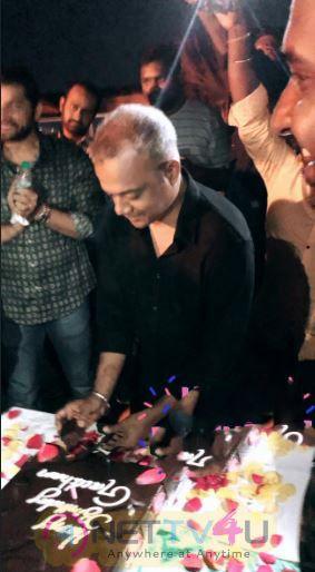 Gautham Menon Birthday Celebration At Dhruva Natchathiram Team Images Tamil Gallery