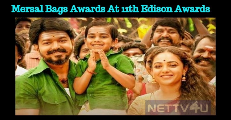 Mersal Grabs 7 Awards At The 11th Edison Awards!