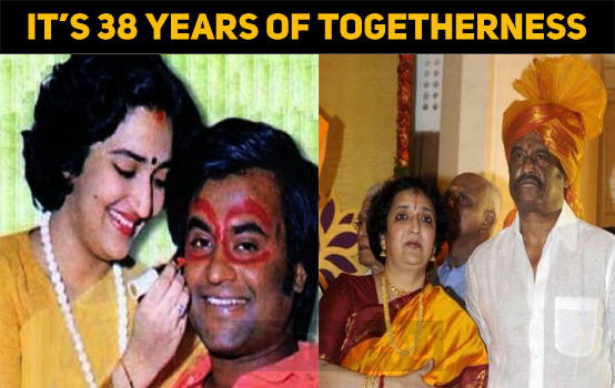 It's 38 Years Of Togetherness For Superstar And Latha!