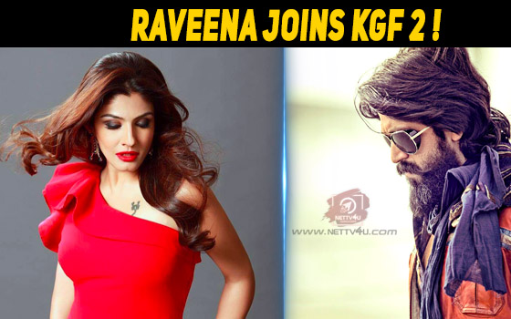 Raveena Joins KGF 2 Star Cast!