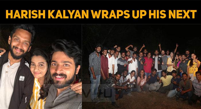 Harish Kalyan Wraps Up His Next!