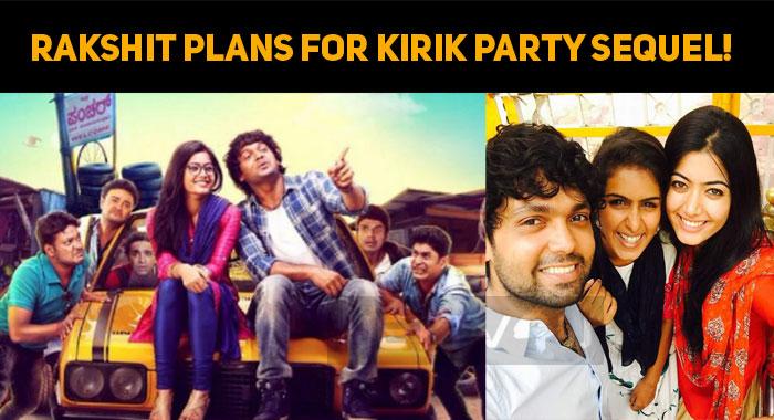 Rakshit Plans For Kirik Party Sequel!