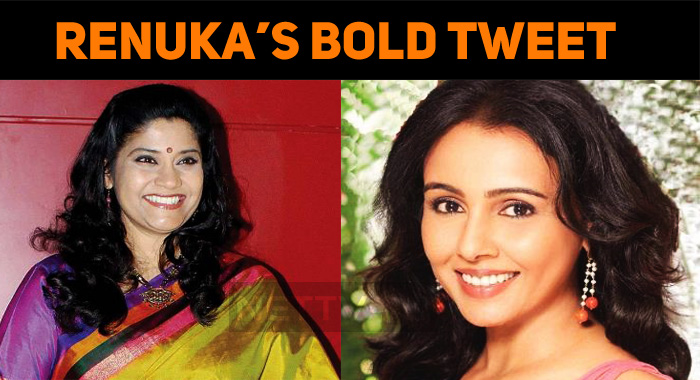 Renuka Shahane's Bold Tweet About Abused Women!..