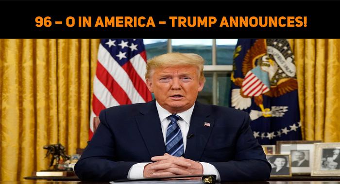 96 – O In America – Trump Announces!