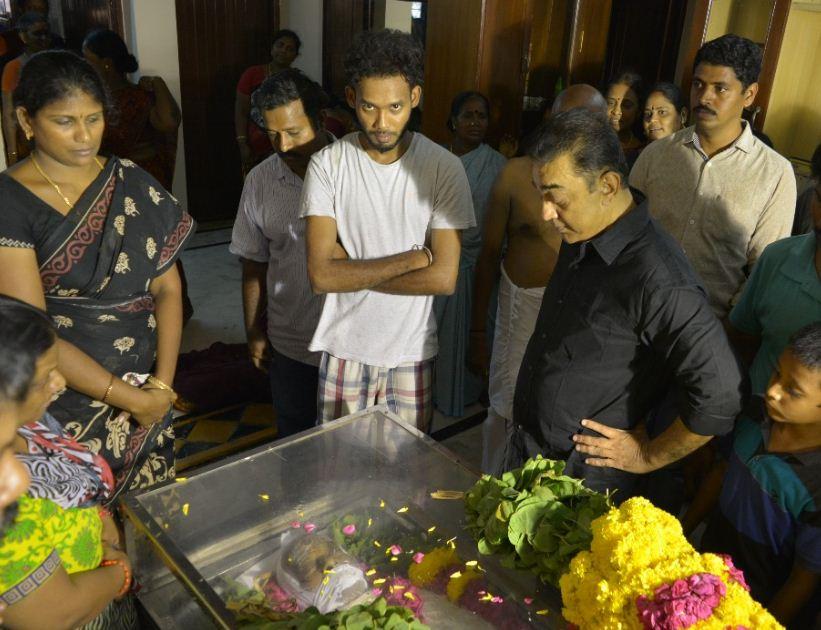 Kamal Haasan Pays Tribute To NK Vishwanathan!