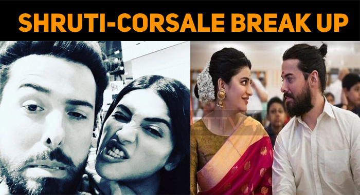Shruti Haasan Breaks Up With Michael Corsale!