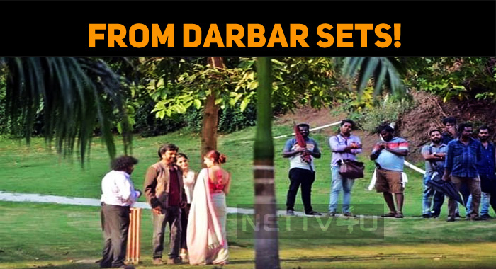 Yet Another Leak From Darbar Sets!