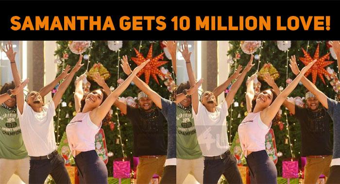 Samantha Gets 10 Million Love!