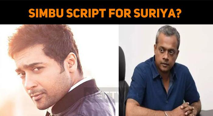 Simbu Script For Suriya?