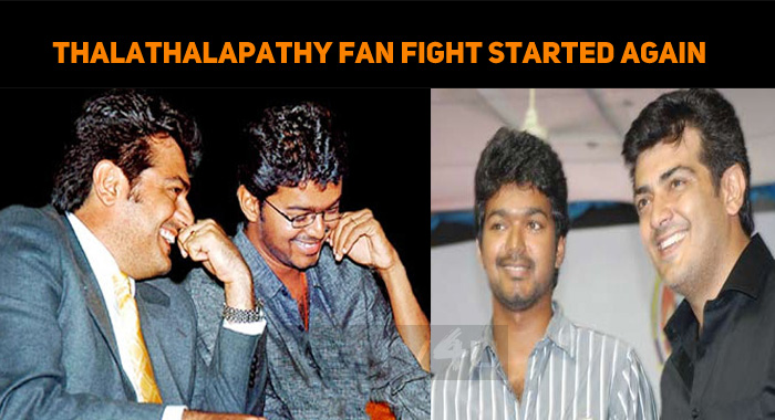 Thalathalapathy Fan Fight Started Again On Twit..