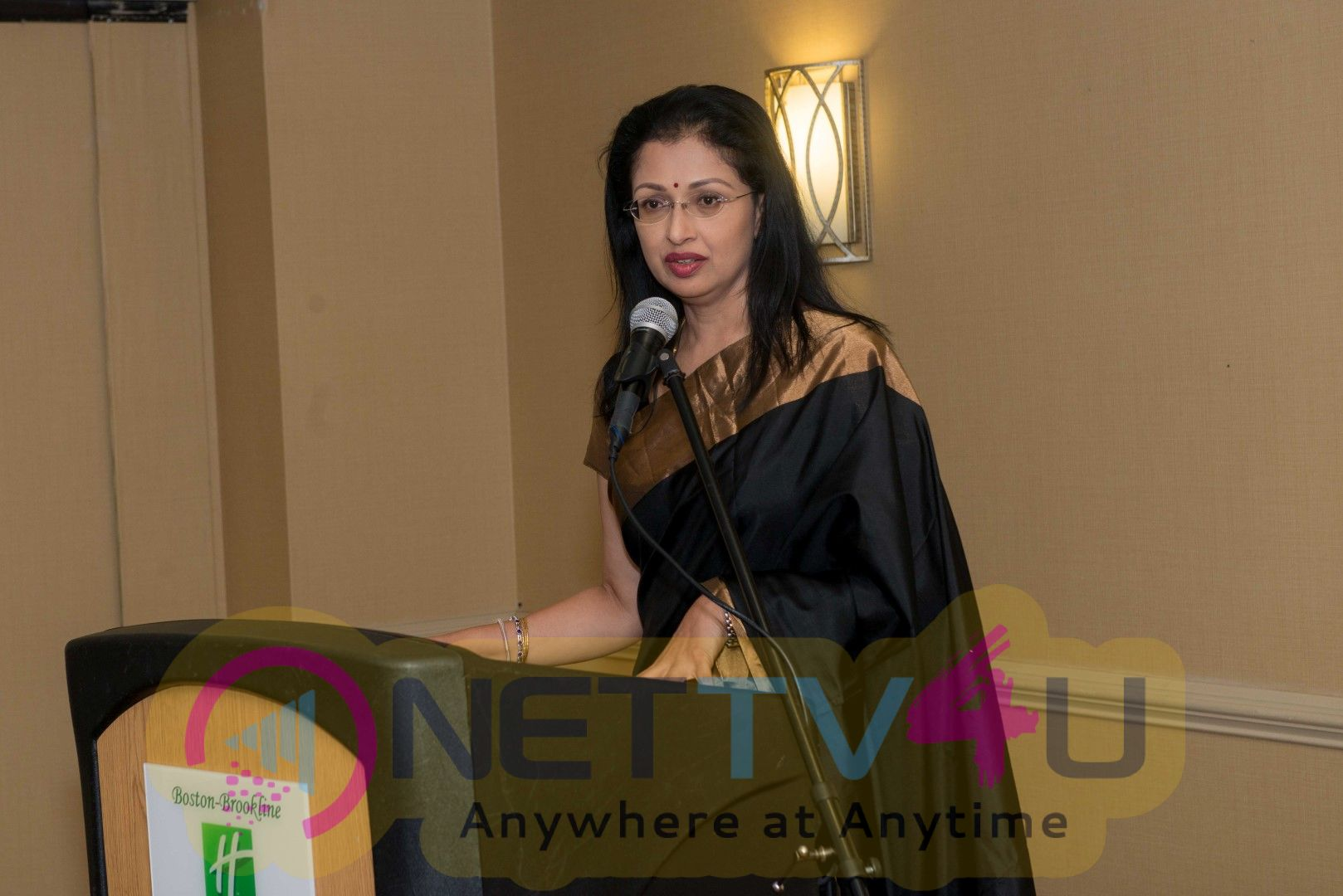 Actress Gautami Speech In 3rd International Conference For The Role Of  Ayurveda And Yoga Cute Images