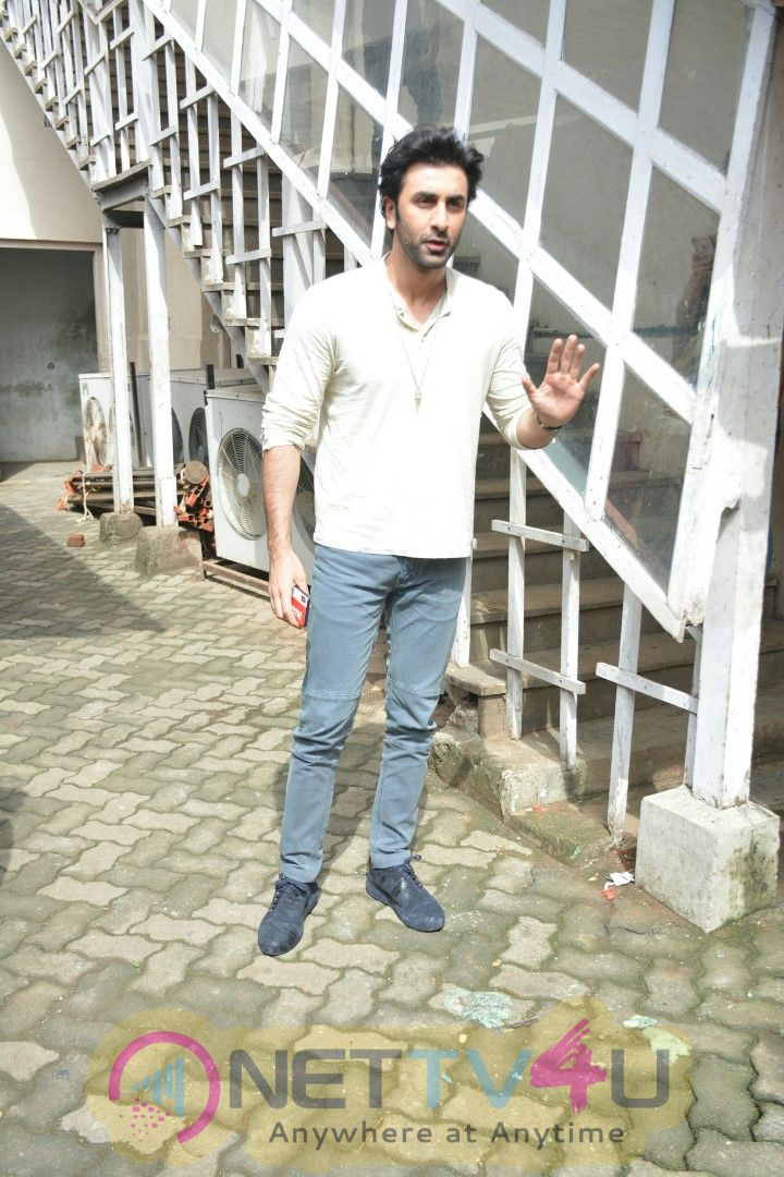 Ranbir Kapoor Spotted At Mehboob Studio In Bandra