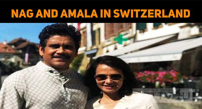 Nagarjuna And Amala Are Enjoying Their Swiss Ho..