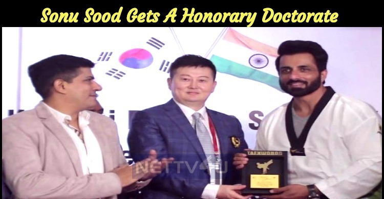The Popular Villain Is Honoured With The Doctor..