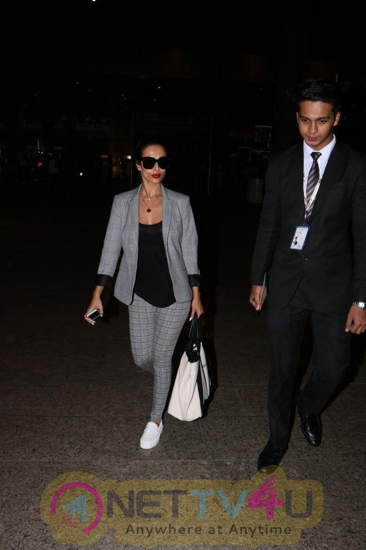 Malaika Arora Khan Spotted At  Airport Images