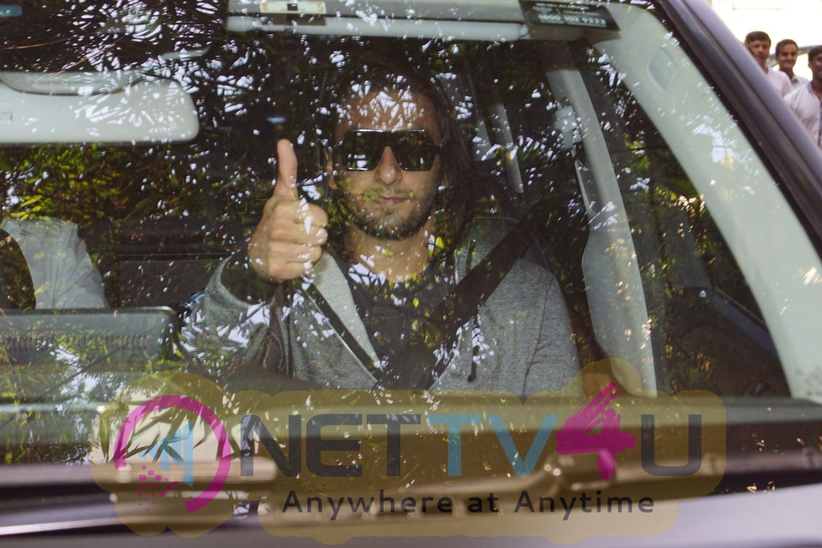Ranveer Singh Spotted At Sunny Super Sound Stills