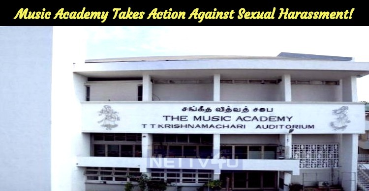 Madras Music Academy Takes Action Against Sexua..