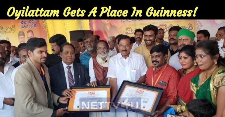 Tamil's Traditional Dance Oyilattam Gets A Place In Guinness!