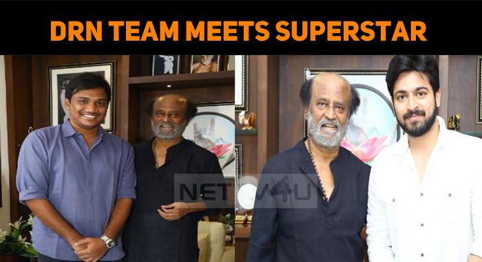 Dhanusu Raasi Neyargale Team Meets Superstar!