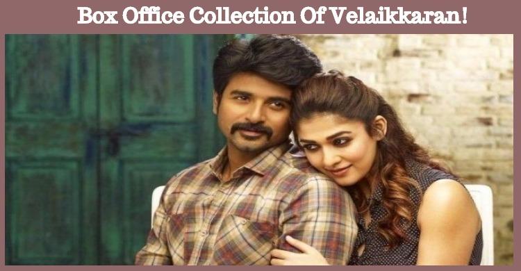 Four - Day Box Office Collection Of Velaikkaran!