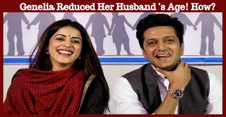 Genelia Reduced Her Husband's Age! How?