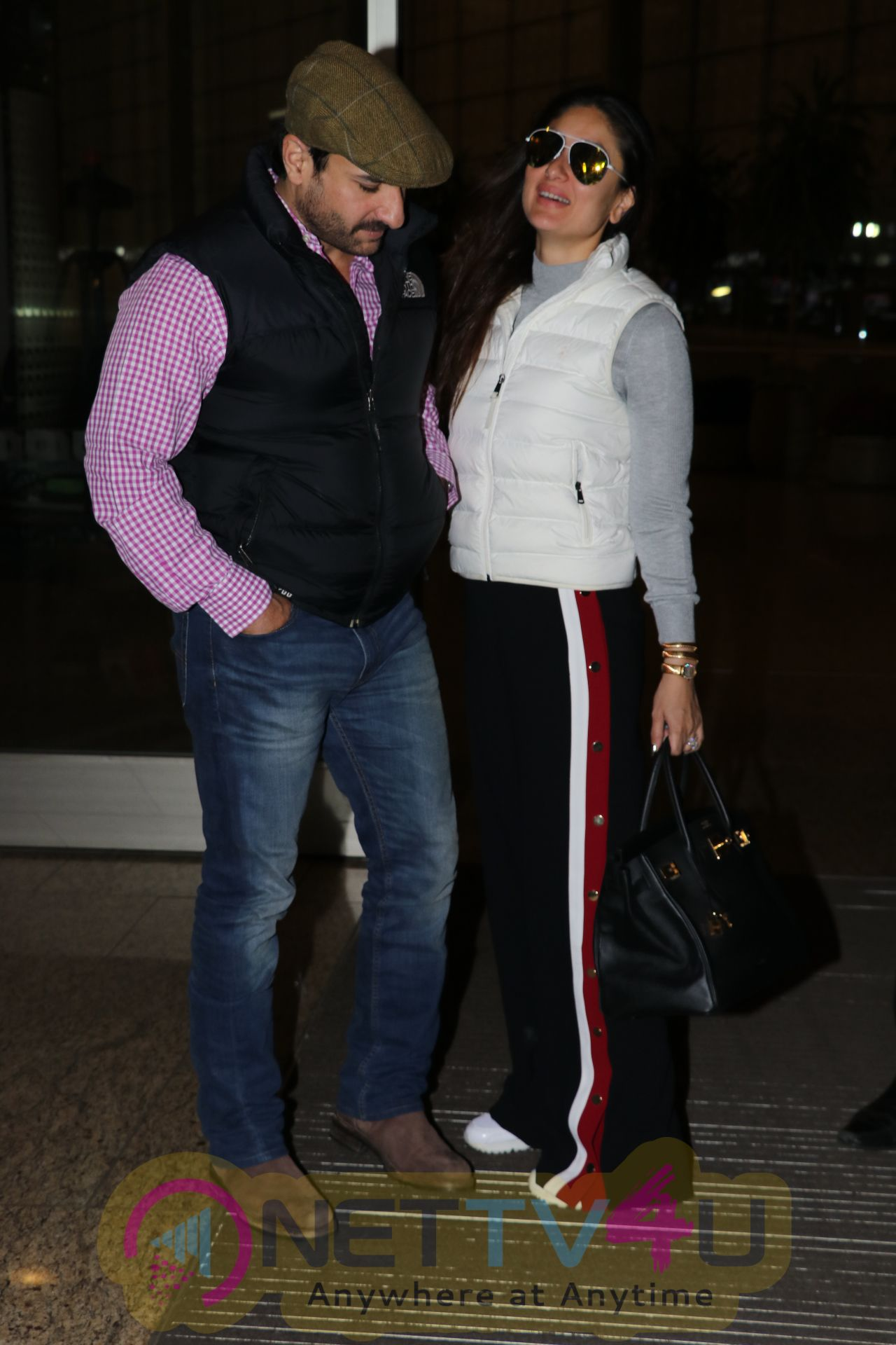 Kareena , Saif & Taimur Ali Khan Spotted At Airport Pics Hindi Gallery