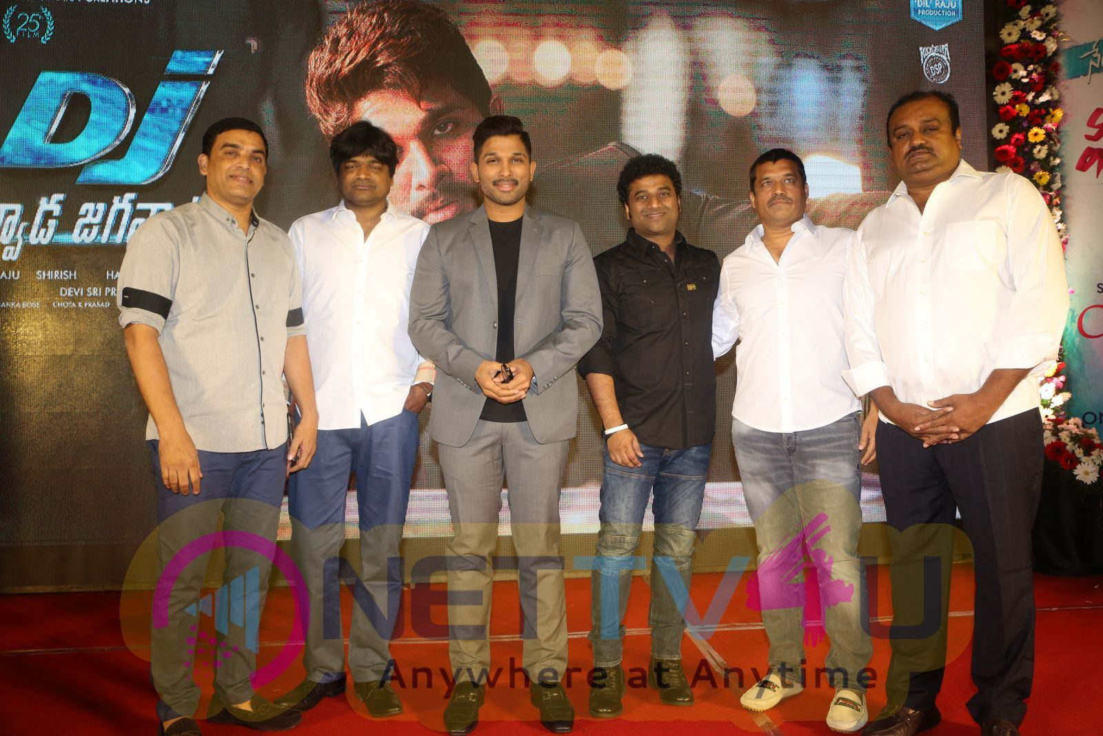 Sri Venkateshwara Creations Dil Raju 2017 Success Celebration Photos Telugu Gallery
