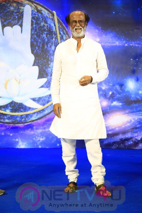 Superstar Rajinikanth's Fans Meet - Day 1 Images