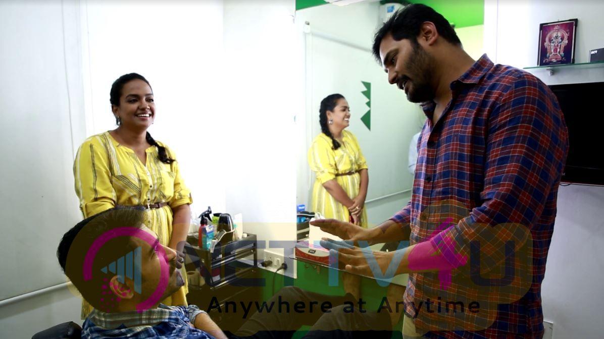 Agni Siragugal Movie Working Photos