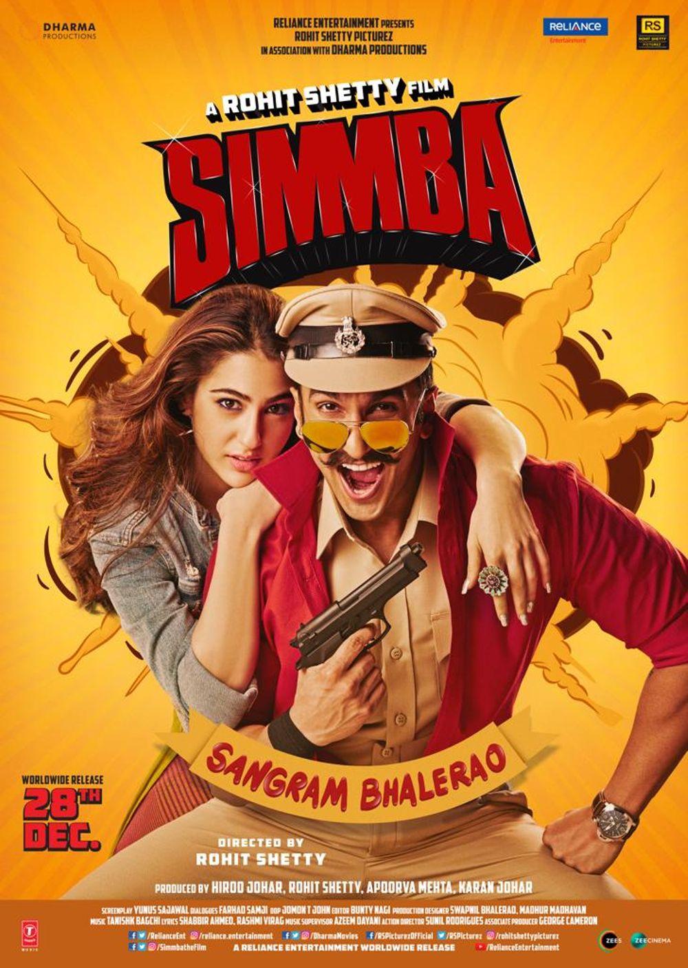 Simmba Movie Review Hindi Movie Review