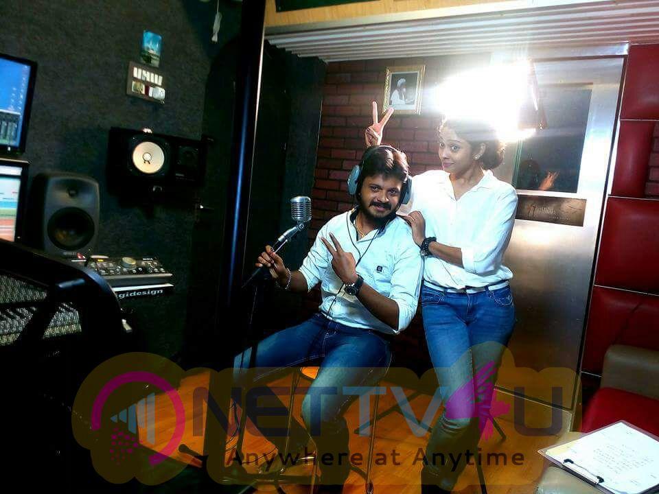 Karichan Kuruvi Tamil Movie Song Making Photos
