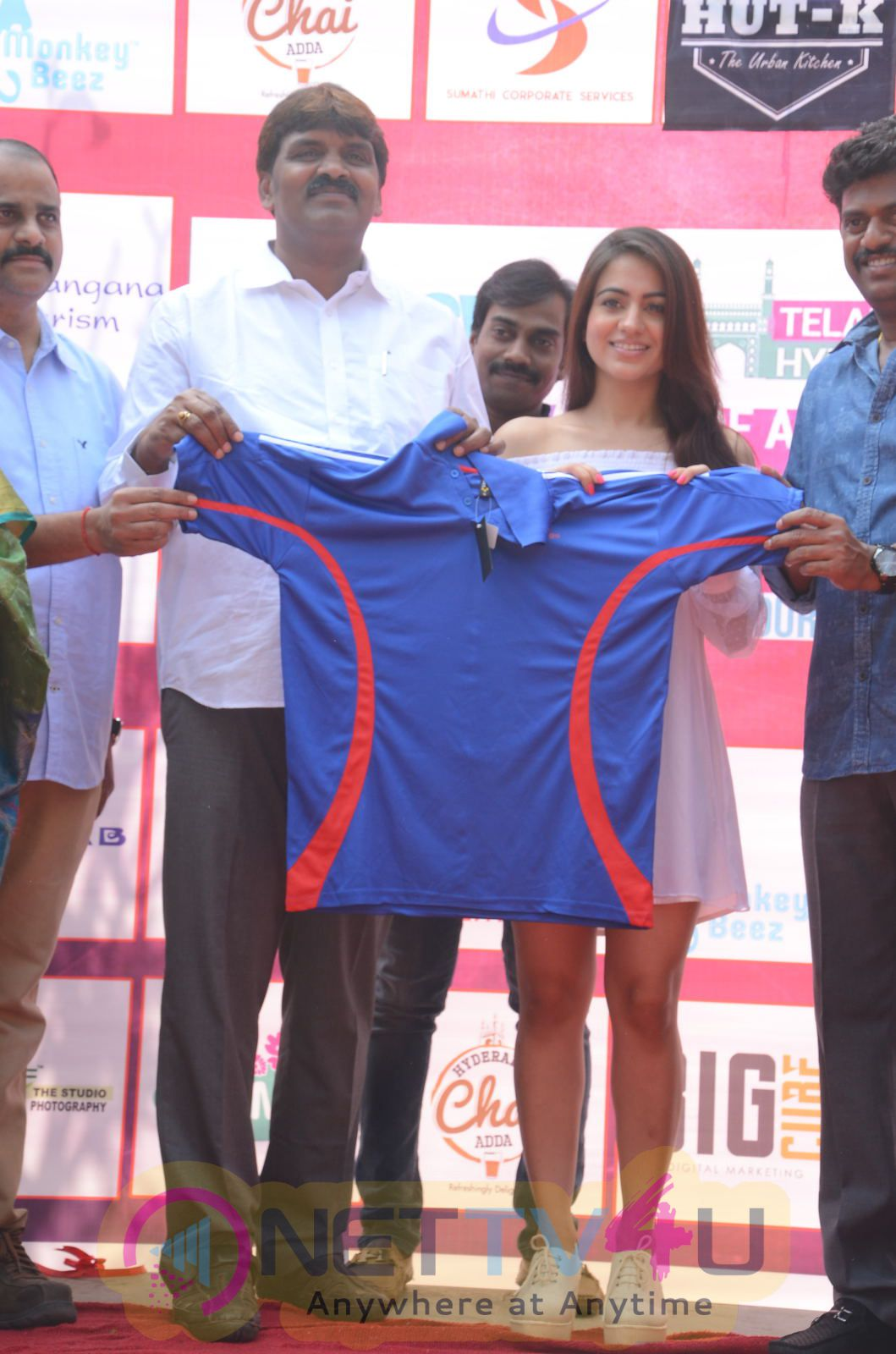 Swachh Telangana Trophy Cinestars Vs Corporators Press Meet Photos