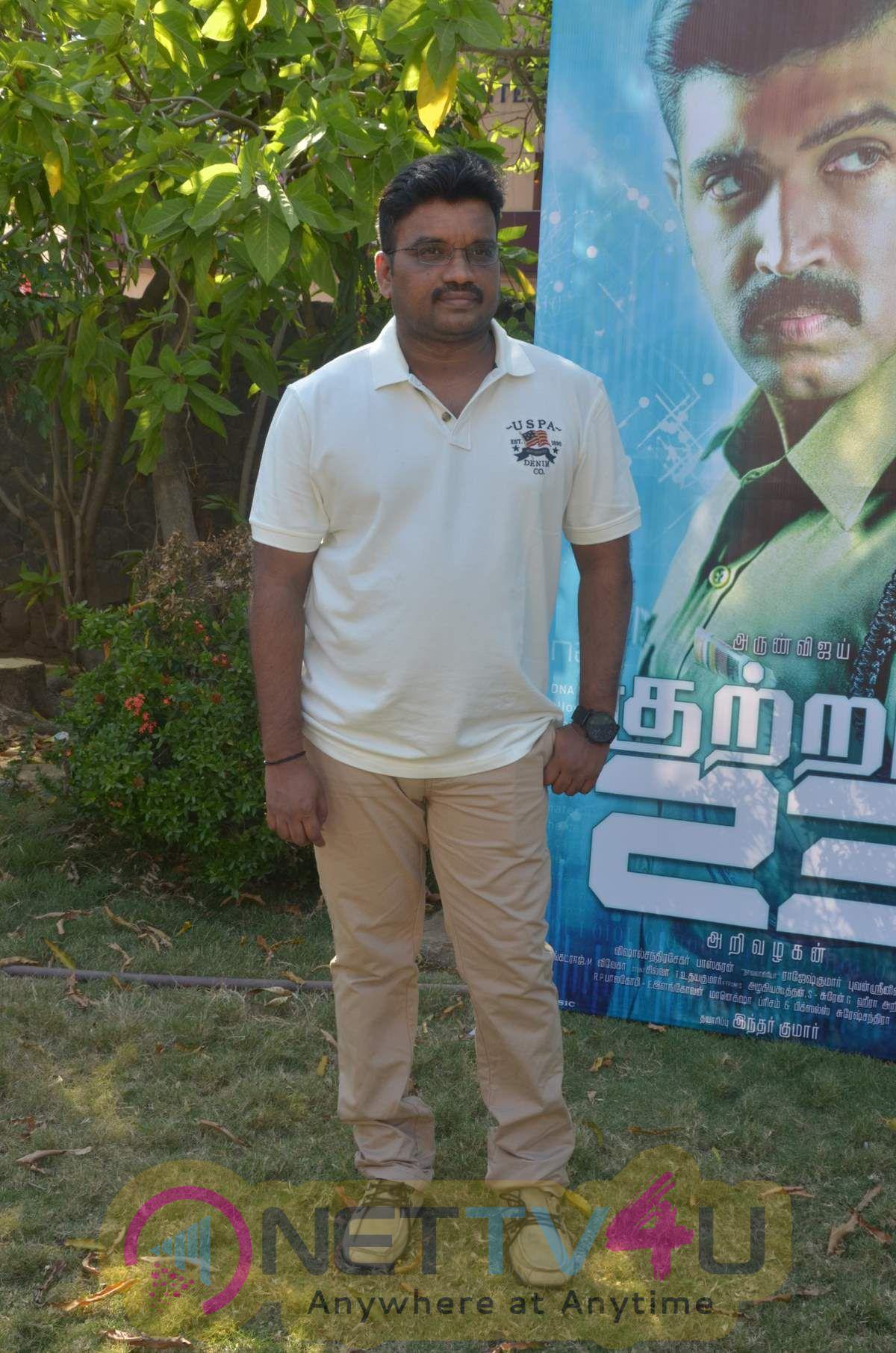 Charming Photos Of Kuttram 23 Movie Press Meet