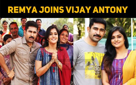 Remya Nambeesan Joins Vijay Antony!