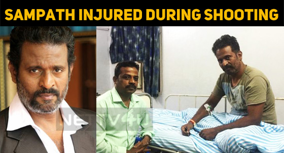 Sampath Ram Injured During Shooting!