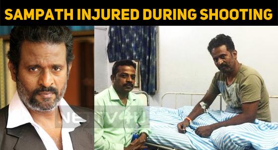 Sampath Ram Injured During Shooting!