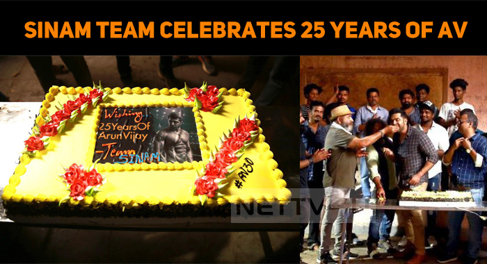 Sinam Team Celebrates 25 Years Of Arun Vijay!