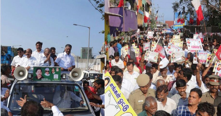 OPS Started The Election Campaign For Madhusoodanan!