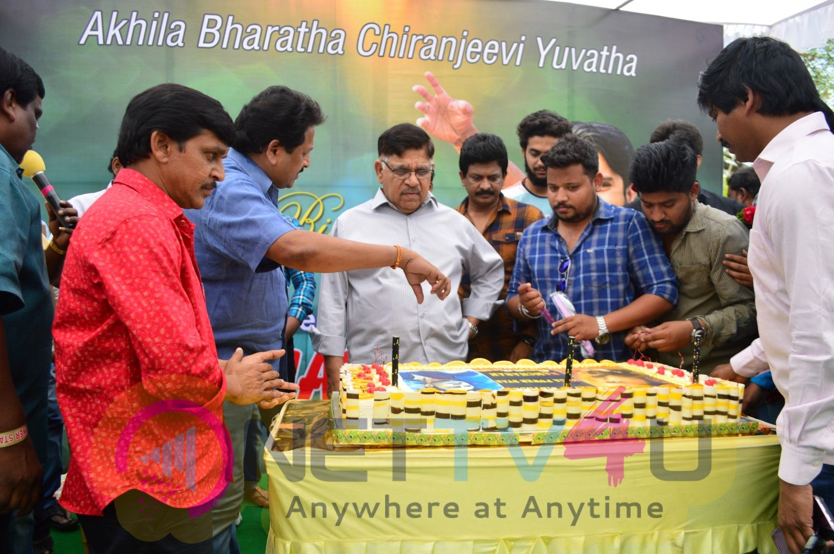 Ram Charan Birthday Celebrations By Allu Aravind