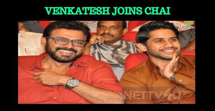 Venkatesh Joins Chai!