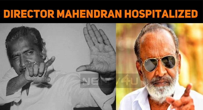 Director Mahendran Hospitalized!