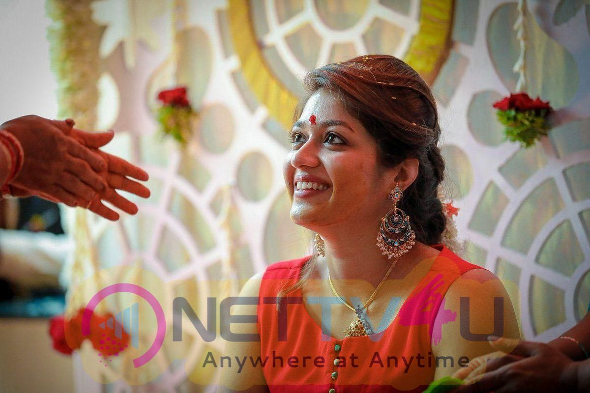 Actress Meghana Raj Mehendi Ceremony Stills